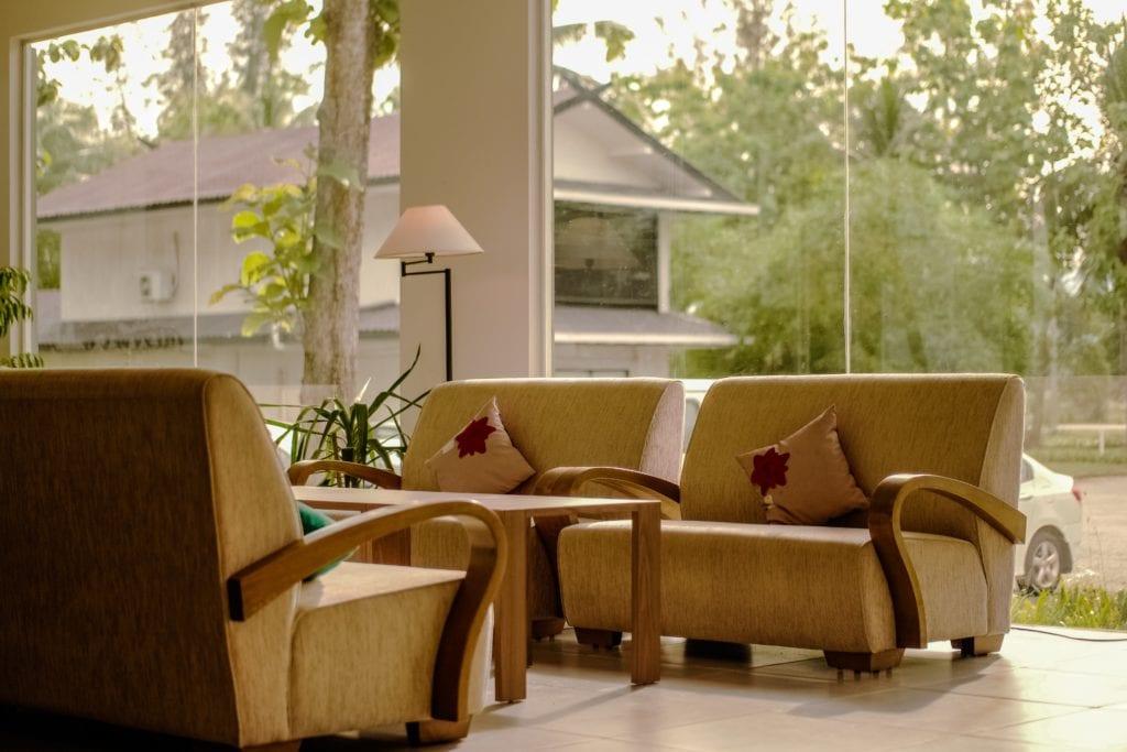 Sofas Near Window